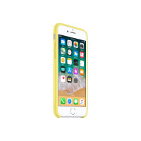 Apple - Back cover for mobile phone - silicone - lemonade