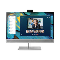 "HP EliteDisplay E243m - LED Computer Monitor - 23.8"" (23.8"" viewable) - 1920 x 1080 Full HD (1080p) - IPS - 250 cd/m² - 1000:1 - 5 ms - HDMI, VGA, DisplayPort - speakers - black (rear cover), silver (speakers, bezel and stand)"