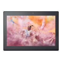 "Lenovo Miix 320-10ICR 80XF - Tablet - with keyboard dock - Atom x5 Z8350 / 1.44 GHz - Win 10 Pro - 2 GB RAM - 32 GB eMMC - 10.1"" touchscreen 1280 x 800 (HD) - HD Graphics 400 - Wi-Fi, Bluetooth - platinum silver"