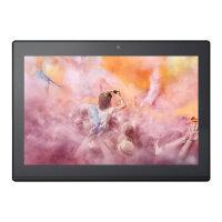 "Lenovo Miix 320-10ICR 80XF - Tablet - with keyboard dock - Atom x5 Z8350 / 1.44 GHz - Win 10 Pro - 4 GB RAM - 64 GB eMMC - 10.1"" touchscreen 1280 x 800 (HD) - HD Graphics 400 - Wi-Fi, Bluetooth - platinum silver"