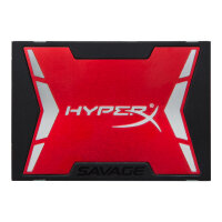 """HyperX Savage - Solid state drive - 240 GB - internal - 2.5"""" (in 3.5"""" carrier) - SATA 6Gb/s"""