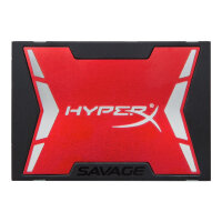 "HyperX Savage - Solid state drive - 480 GB - internal - 2.5"" (in 3.5"" carrier) - SATA 6Gb/s"