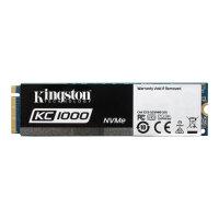 Kingston SKC1000 - Solid state drive - 240 GB - internal - M.2 2280 - PCI Express 3.0 x4 (NVMe)