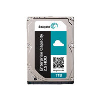 "Seagate Enterprise Capacity 2.5 HDD ST1000NX0333 - Hard drive - 1 TB - internal - 2.5"" SFF - SAS 12Gb/s - NL - 7200 rpm - buffer: 128 MB"
