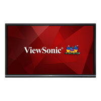 """ViewSonic ViewBoard IFP8650 - 86"""" Class (85.6"""" viewable) LED display - digital signage / interactive communication - with optional slot-in PC capability and touchscreen (multi touch) - 4K UHD (2160p) 3840 x 2160 - D-LED Backlight"""