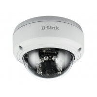 D-Link Vigilance DCS-4603 Full HD PoE Dome Camera - Network surveillance camera - pan / tilt - colour (Day&Night) - 3 MP - 1920 x 1080 - 1080p - LAN 10/100 - MJPEG, H.264 - DC 12 V