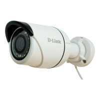 D-Link DCS 4703E - Network surveillance camera - outdoor - dustproof / waterproof - colour (Day&Night) - 3 MP - 2048 x 1536 - MJPEG, H.264 - PoE