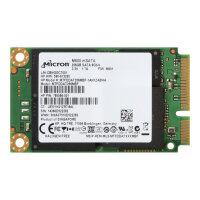 Micron M550 - Solid state drive - 256 GB - internal - mSATA - SATA 6Gb/s