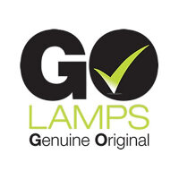 GO Lamps - Projector lamp (equivalent to: SP.8TE01GC01, BL-FP280H) - P-VIP - 280 Watt - 3000 hour(s) (standard mode) / 4500 hour(s) (economic mode) - for Optoma W401, X401
