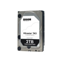 "HGST Ultrastar 7K2 HUS722T2TALA604 - Hard drive - 2 TB - internal - 3.5"" - SATA 6Gb/s - 7200 rpm - buffer: 128 MB"