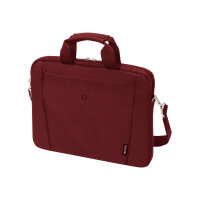 "Dicota Slim Case BASE - Notebook carrying case - Laptop Bag - 15"" - 15.6"" - red"
