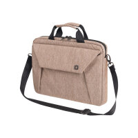 "Dicota Slim Case EDGE - Notebook carrying case - Laptop Bag - 14"" - 15.6"" - sandstone"