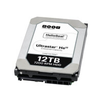 "HGST Ultrastar HE12 HUH721212AL5200 - Hard drive - 12 TB - internal - 3.5"" - SAS 12Gb/s - 7200 rpm - buffer: 256 MB"