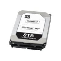 "HGST Ultrastar He10 HUH721008ALE600 - Hard drive - 8 TB - internal - 3.5"" - SATA 6Gb/s - 7200 rpm - buffer: 256 MB"