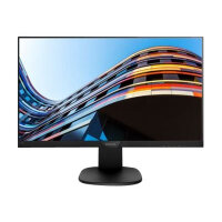 "Philips S-line 243S7EJMB - LED Computer Monitor - 24"" (23.8"" viewable) - 1920 x 1080 Full HD (1080p) - IPS - 250 cd/m² - 1000:1 - 5 ms - HDMI, VGA, DisplayPort - speakers - black, textured black"