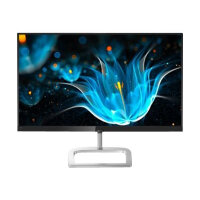 "Philips E-line 246E9QDSB - LED Computer Monitor - 24"" (23.8"" viewable) - 1920 x 1080 Full HD (1080p) - IPS - 1000:1 - 5 ms - HDMI, DVI-D, VGA - gloss silver, black glossy"