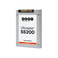 "HGST Ultrastar SS200 - Solid state drive - encrypted - 1.6 TB - internal - 2.5"" SFF - SAS 12Gb/s - Self-Encrypting Drive (SED)"