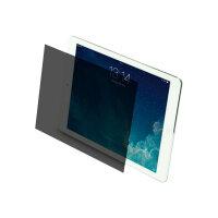 Targus - Screen privacy filter - black, transparent - for Apple 9.7-inch iPad; 9.7-inch iPad Pro; iPad Air; iPad Air 2
