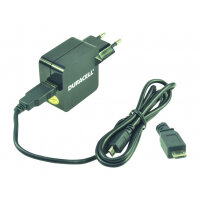 Duracell DMAC10-EU - Power adapter - 2.4 A (USB) - on cable: Micro-USB - European Union