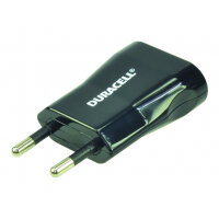 Duracell - Power adapter - 1 A (Micro-USB Type B) - black - Europe