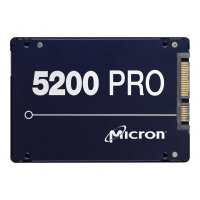 "Micron 5200 PRO - Solid state drive - 960 GB - internal - 2.5"" - SATA 6Gb/s"