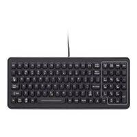 iKey Backlit Mobile Industrial PCPE-IKSLK02 - Keyboard - USB - French