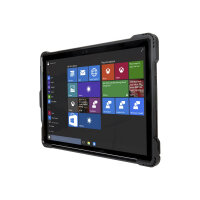 Targus SafePORT - Protective case for tablet - rugged - polycarbonate, thermoplastic polyurethane - black - for Microsoft Surface Pro (Mid 2017), Pro 4