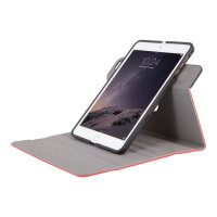 Targus VersaVu Slim - Flip cover for tablet - polyurethane - red - for Apple iPad mini