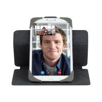 Targus Safe Fit Rotating Universal - Flip cover for tablet - polyurethane - red