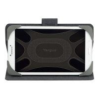 Targus Safe Fit Rotating Universal - Flip cover for tablet - polyurethane - purple