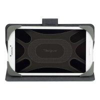Targus Safe Fit Rotating Universal - Flip cover for tablet - polyurethane - blue