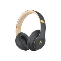 Beats Studio3 Wireless - Headphones with mic - full size - Bluetooth - wireless - active noise cancelling - noise isolating - shadow grey