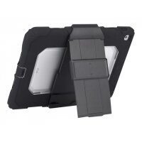 Griffin Survivor All-Terrain - Protective case for tablet - rugged - silicone, polycarbonate, PET - black, clear