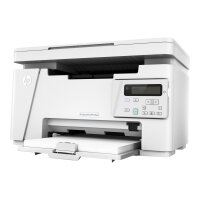 HP LaserJet Pro MFP M26nw - Multifunction printer - B/W - laser - 216 x 297 mm (original) - A4 (media) - up to 18 ppm (copying) - up to 18 ppm (printing) - 150 sheets - USB 2.0, LAN