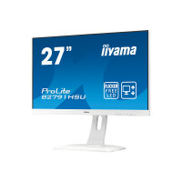 "Iiyama ProLite B2791HSU-W1 - LED Computer Monitor - 27"" (27"" viewable) - 1920 x 1080 Full HD (1080p) - TN - 300 cd/m² - 1000:1 - 1 ms - HDMI, VGA, DisplayPort - speakers - white"