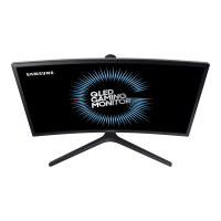 "Samsung CFG7 Series C24FG73FQU - QLED Computer Monitor - curved - 24"" (23.5"" viewable) - 1920 x 1080 Full HD (1080p) - VA - 350 cd/m² - 3000:1 - 1 ms - 2xHDMI, DisplayPort - matte dark blue black"