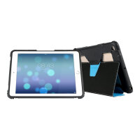 Max Cases Extreme Folio - Flip cover for tablet - blue - for Apple 9.7-inch iPad (5th generation)