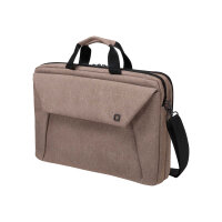 "Dicota Slim Case Plus EDGE - Notebook carrying case - Laptop Bag - 12"" - 13.3"" - sandstone"