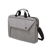"Dicota Slim Case Plus EDGE - Notebook carrying case - Laptop Bag - 12"" - 13.3"" - light grey"