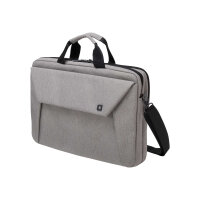 "Dicota Slim Case Plus EDGE - Notebook carrying case - Laptop Bag - 14"" - 15.6"" - light grey"