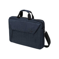 "Dicota Slim Case Plus EDGE - Notebook carrying case - Laptop Bag - 14"" - 15.6"" - blue"