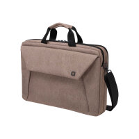 "Dicota Slim Case Plus EDGE - Notebook carrying case - Laptop Bag - 14"" - 15.6"" - sandstone"