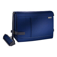"Leitz Complete Messenger Smart Traveller - Notebook carrying case - Laptop Bag - 15.6"" - titan blue"