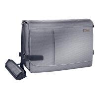 "Leitz Complete Messenger Smart Traveller - Notebook carrying case - Laptop Bag - 15.6"" - silver"