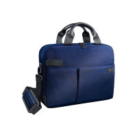 "Leitz Complete Smart Traveller - Notebook carrying case - Laptop Bag - 13.3"" - titan blue"
