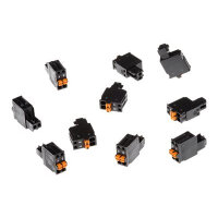 AXIS Connector A 2-pin 2.5 Straight - Camera connector (pack of 10)