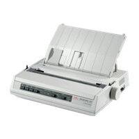 OKI ML280eco - Printer - monochrome - dot-matrix - 241.3 mm (width) - 240 x 216 dpi - 9 pin - up to 375 char/sec - parallel, USB 2.0