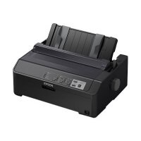 Epson LQ 590II - Printer - monochrome - dot-matrix - Roll (21.6 cm), JIS B4, 254 mm (width) - 360 x 180 dpi - 24 pin - up to 584 char/sec - parallel, USB 2.0