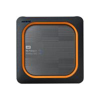 WD My Passport Wireless SSD WDBAMJ5000AGY - Wireless mobile storage - 500 GB - SSD 500 GB x 1 - USB 3.0 / 802.11ac