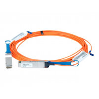 Mellanox LinkX 100Gb/s VCSEL-Based Active Optical Cables - InfiniBand cable - QSFP to QSFP - 50 m - fibre optic - SFF-8665/IEEE 802.3bm - active, halogen-free